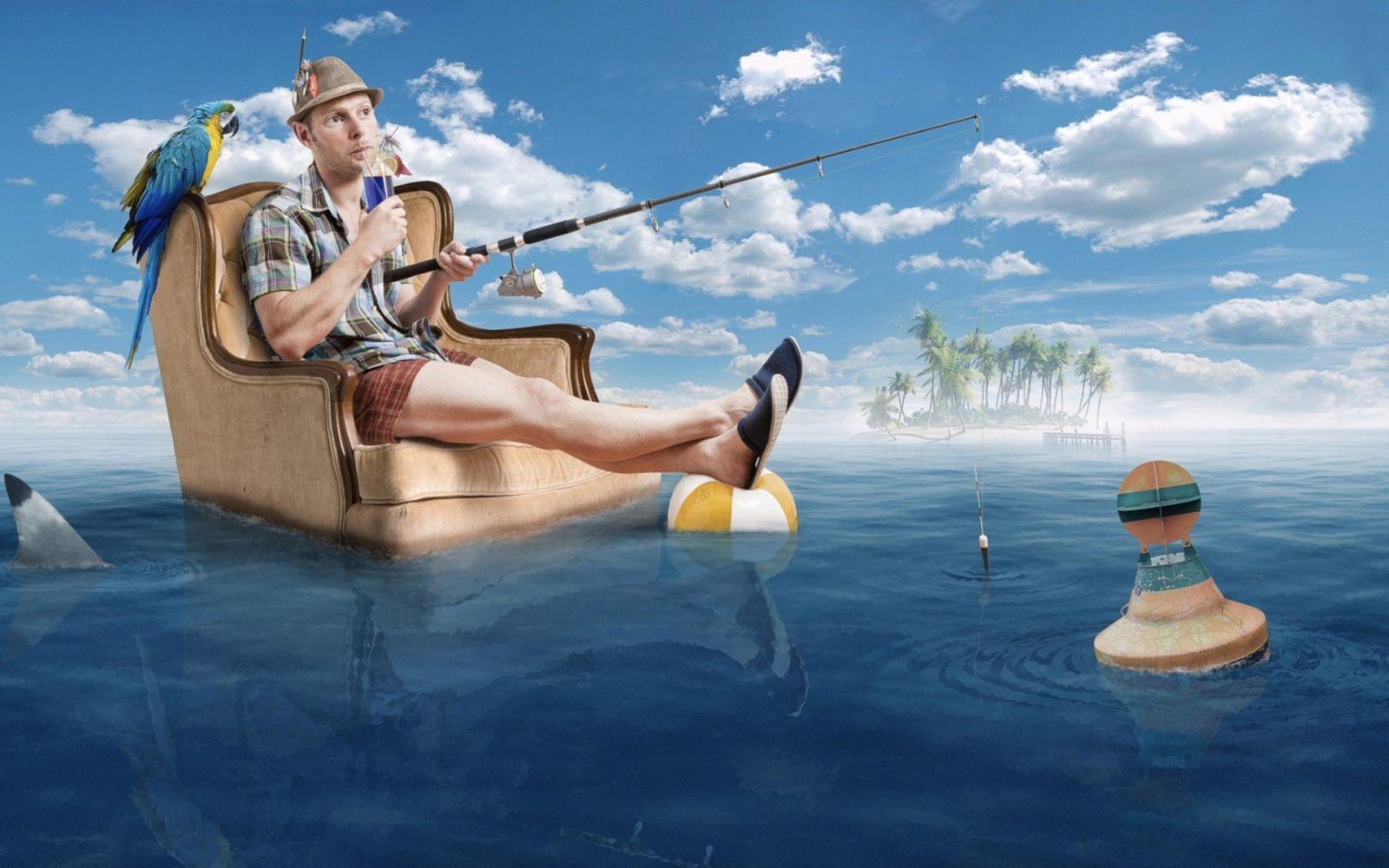 Funny fishing photos free