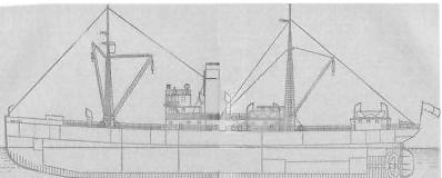 Конструкция парахода Георгий Седов