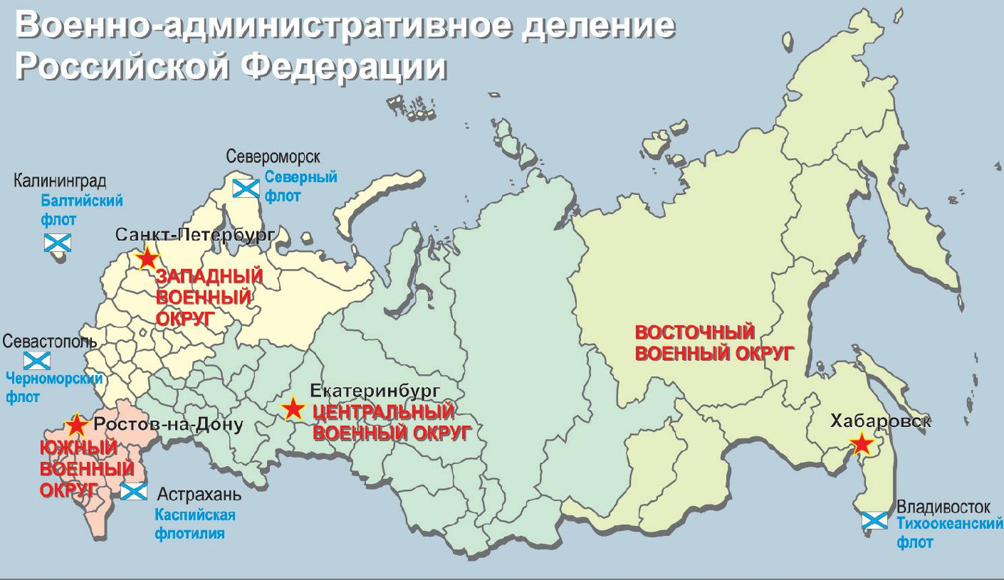 западный военный округ вс россии