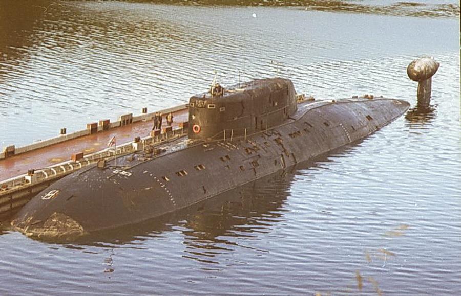Дизельная подводная лодка санкт