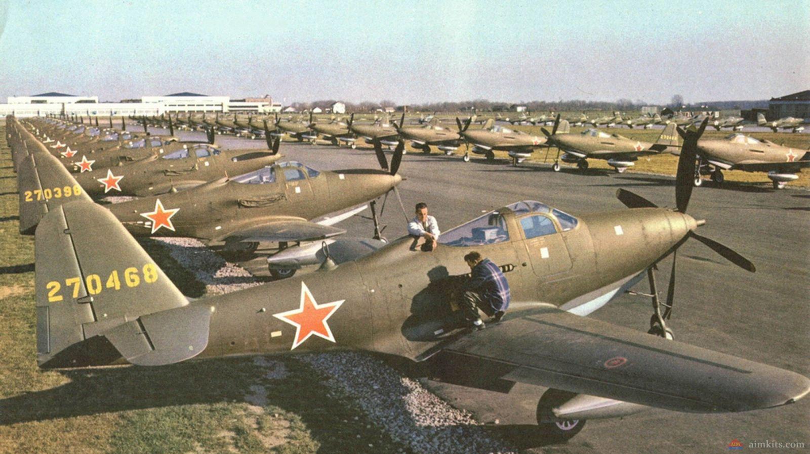 Самолет является точной копией машины, на которой воевал дважды герой советского союза