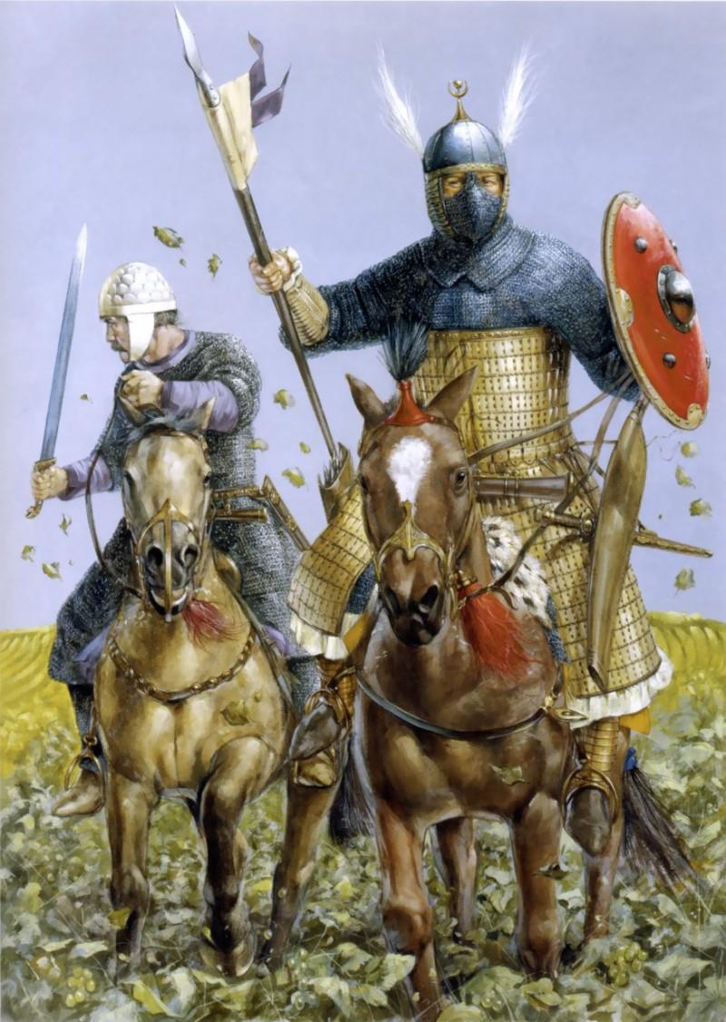 Обои «воин»), замок, доспех, мост, рацарь, осада, всадник, оружие, штурм. Разное foto 18